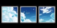 animu clouds. -f2u by kittiqui
