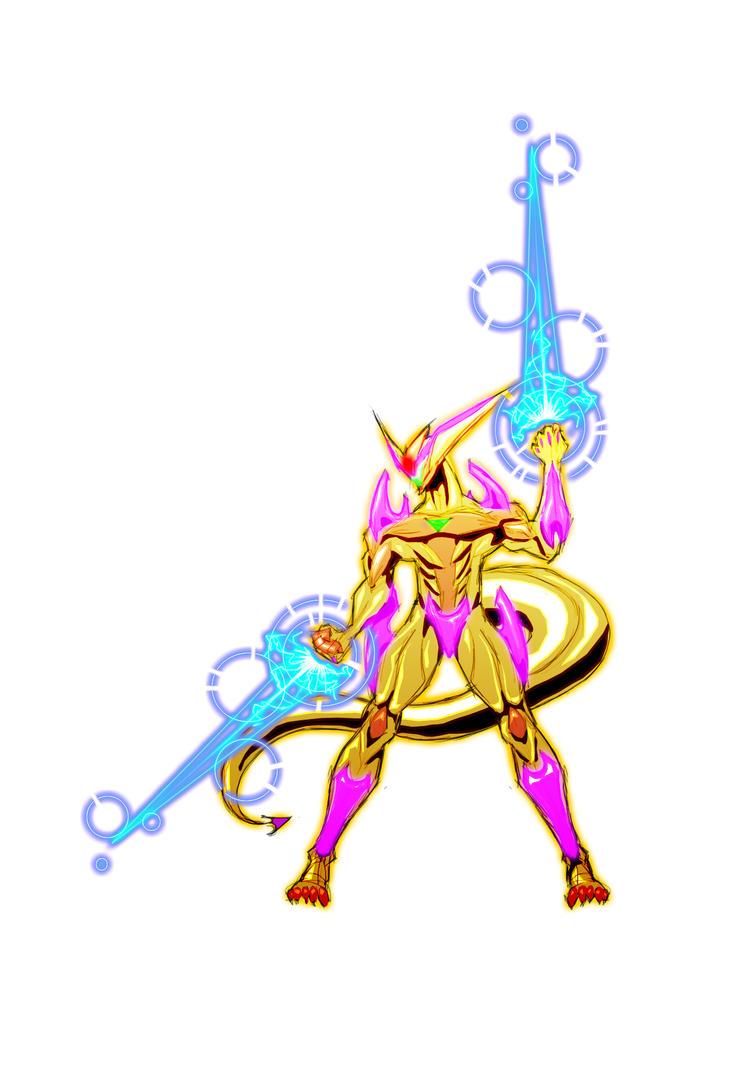 Ultraverse Rift Guardian by Dibujeitor