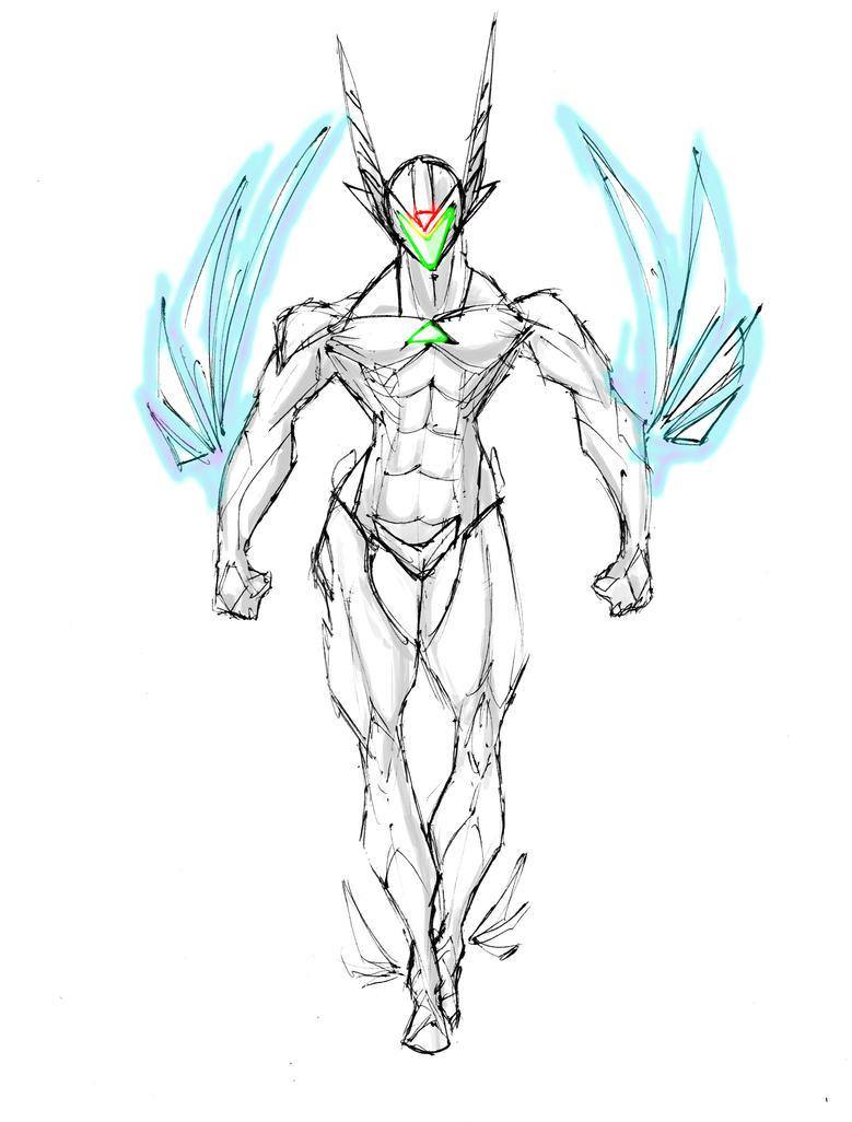 Horus 14 by Dibujeitor