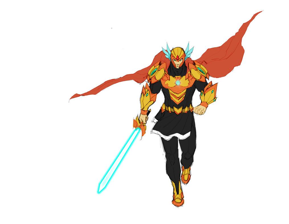 holy Avenger by Dibujeitor