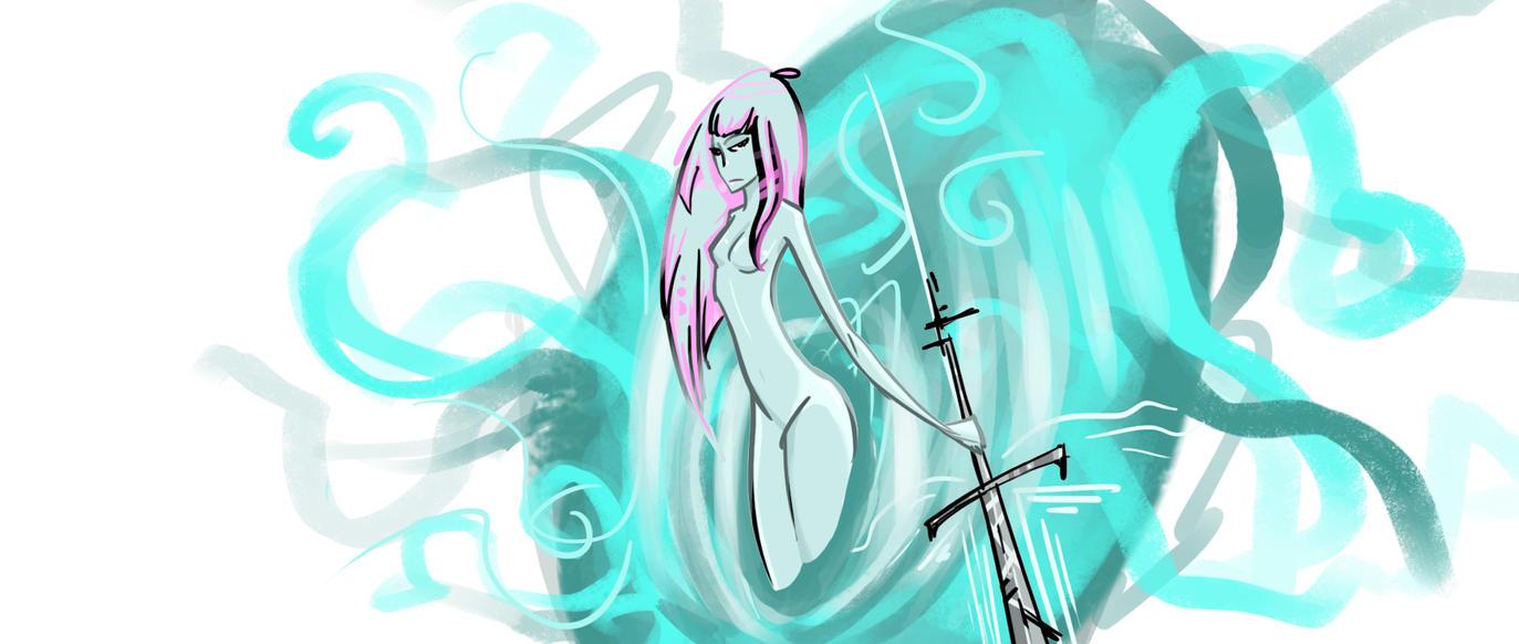 White Sword by ViralAirProtonix