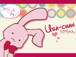 Usa-chan Wallpaper by animeabigail