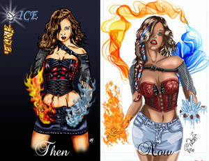 Fire and Ice Then and Now