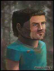 Steve in real life by DanielPLackey