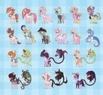 Uh idk sum horses and primal horses - OPEN