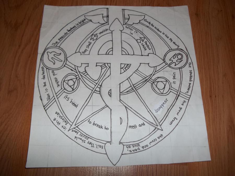 Symbol From Fullmetal Alchemist By Whitewolf990 On Deviantart