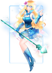 C: Elemental Fairy + Speedpaint by RumbyFishy
