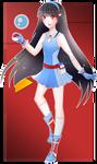 Pokemon Trainer Hitomi by RumbyFishy