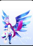 C: SMITE Leona JPF Nemesis's Arrival + Speedpaint by RumbyFishy