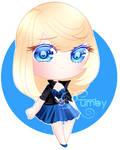 Chibi Diane by RumbyFishy