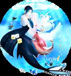 Dance of the Sea + Speedpaint by RumbyFishy