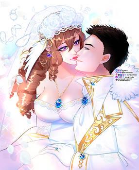 Teirona Wedding + Speedpaint