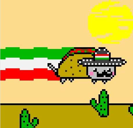 Nyan Cat Tacos