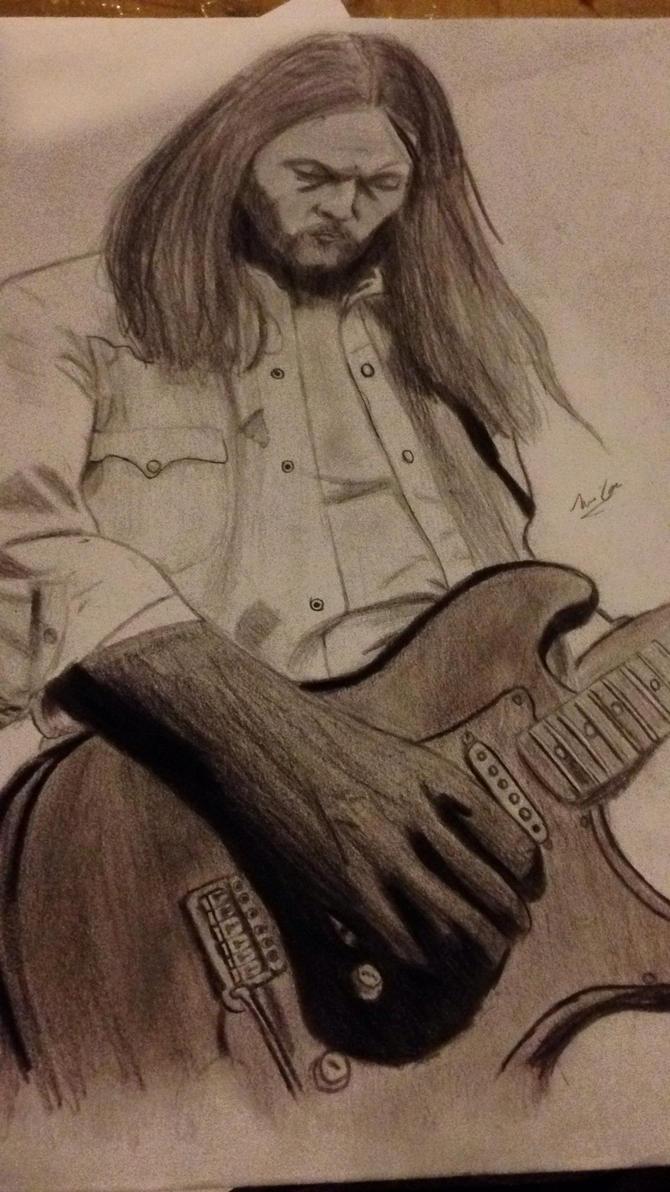 David Gilmour by MrTigerguy