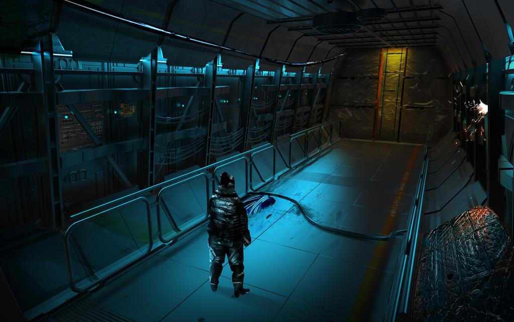 Corridor Paint - Concept by STDrex