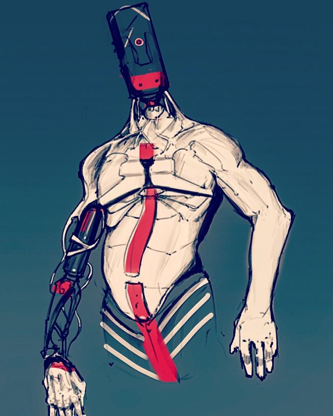 Robo Dude by STDrex