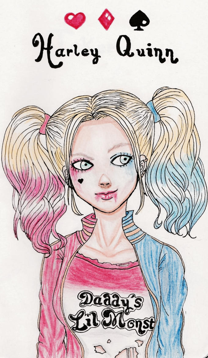 Harley Quinn~ by Evil-OR-Good