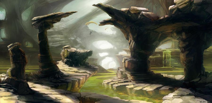 Acid rocks by silviudinu