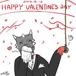 Happy Valentine's Day by Eternal-Lynx