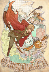 hetalia WFC- Quidditch by AlexiusSana