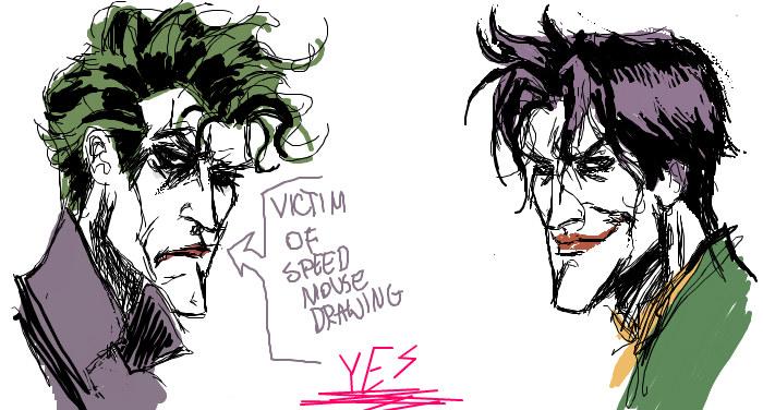 Joker Scribble Drawing : Joker jokester by batscribble on deviantart