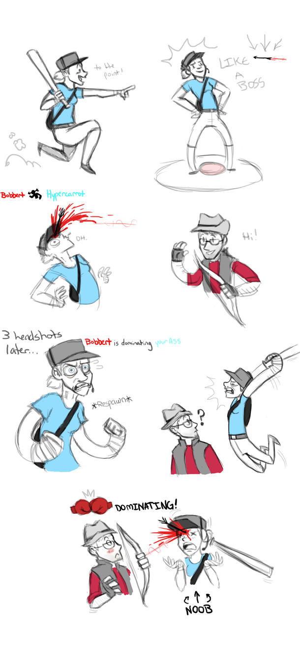 Tf2 snipers by HyperCarrot