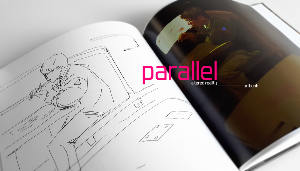 PARALLEL altered reality: NEW ARTBOOK! by R-A-I-N-A-R-T