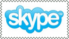Skype logo stamp by kamik988