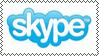 Skype logo stamp by kamik988