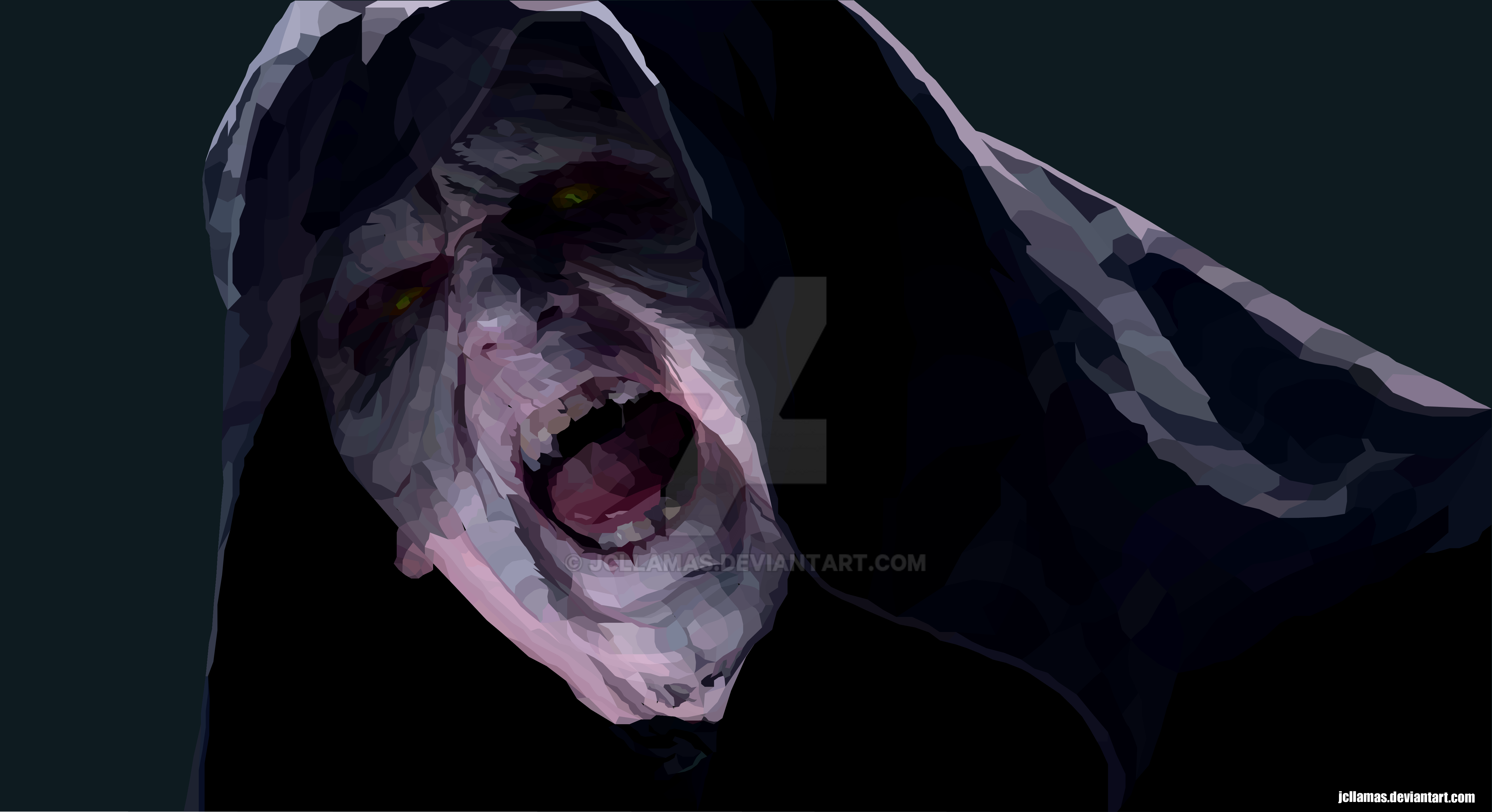 Emperor Palpatine Polygon Illustration by jcllamas on ...