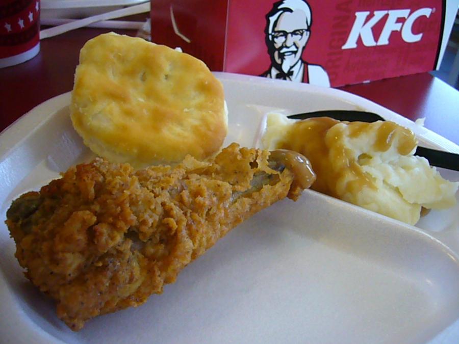 Kentucky Fried Chicken Meal: Kentucky Fried Chicken Meal By ShadowKittyWolf On DeviantArt