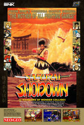 Samurai Shodown Reproduction Poster by Ayce78