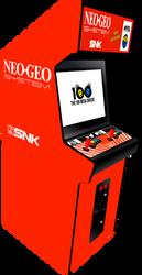 Neo-Geo MVS 20inch by Ayce78