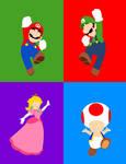 Mushroom Kingdom Heroes