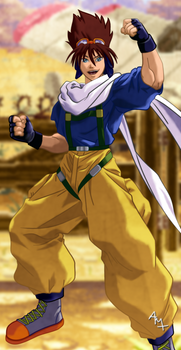 Alfred from Real Bout Fatal Fury 2
