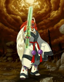 Earth's Pike - Kouryu from Last Blade 2