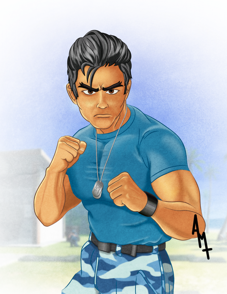 Captain Sawada - Street Fighter The Movie by Ayce78