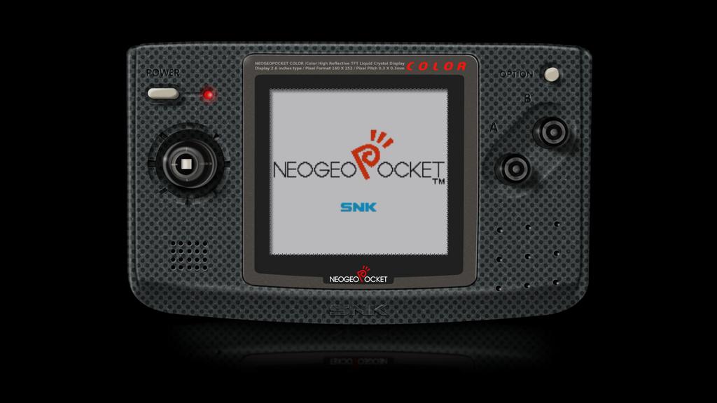 Neo-Geo Pocket Color Render via GIMP by Ayce78
