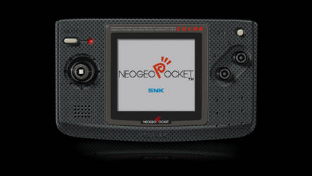 Neo-Geo Pocket Color Render via GIMP by Ayce78