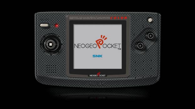Neo-Geo Pocket Color Render via GIMP