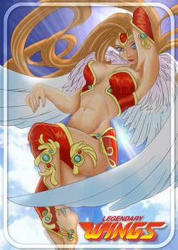 Michelle Heart from Legendary Wings