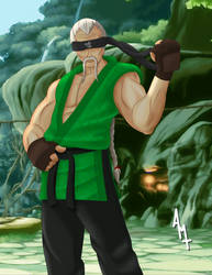 Sheng Long - Street Fighter by Ayce78