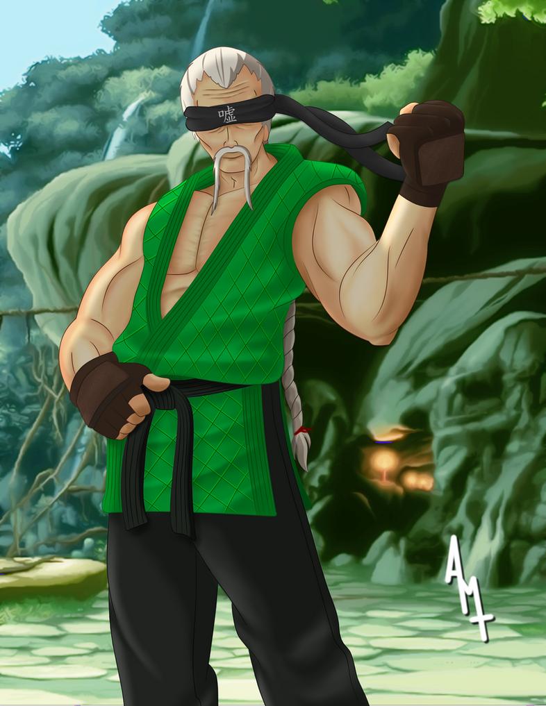 Sheng Long - Street Fighter by Ayce78