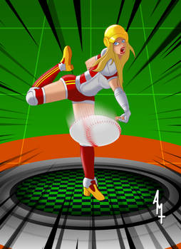 2020 Super Baseball Illustration