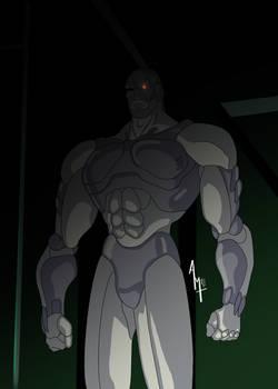 Monitor Cyborg - Street Fighter II