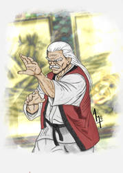 Jubei Yamada - Fatal Fury 2