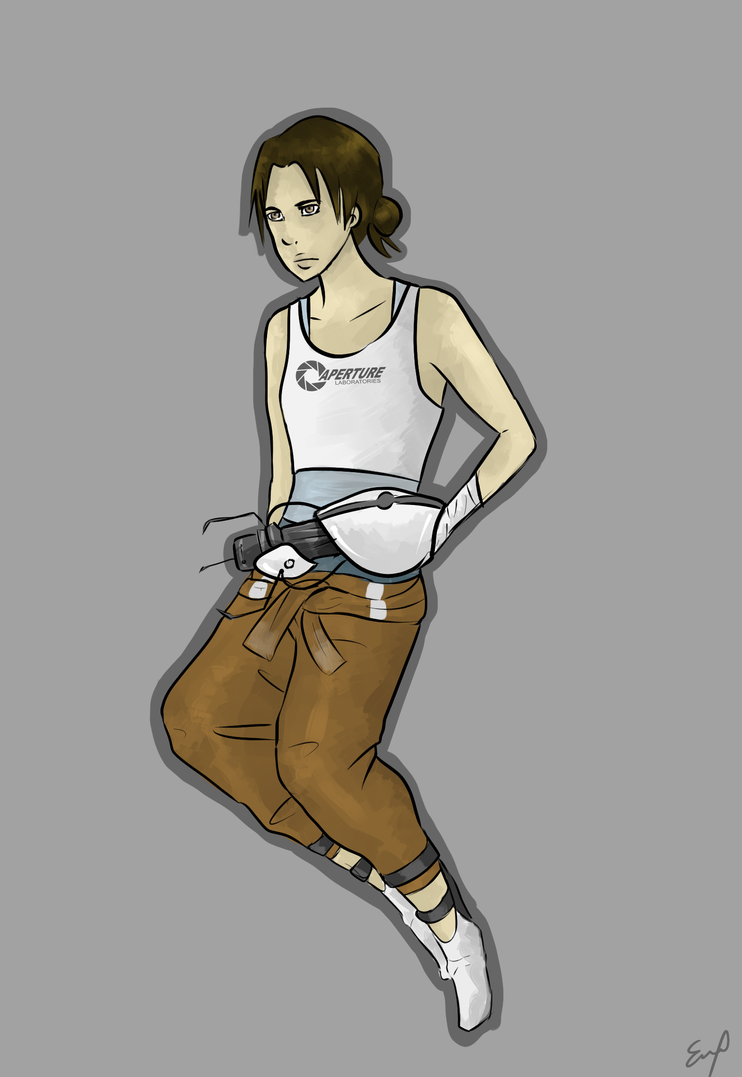 Chell by Obake-no-Kage