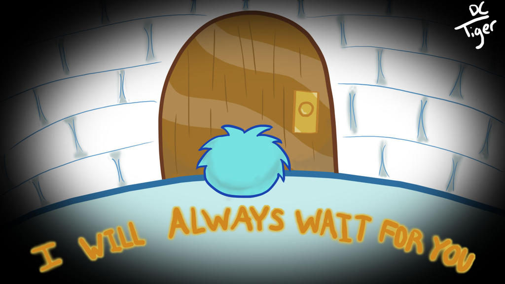 CP-I will always wait for you  Wallpaper by TigerDC