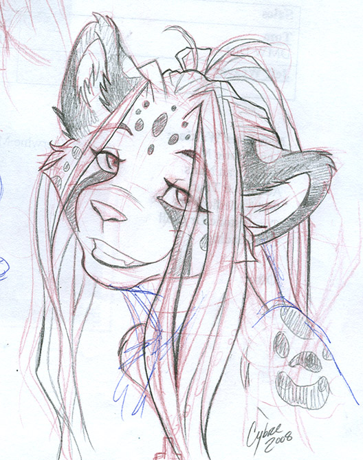 Gift Sketch for Heidi by cybre