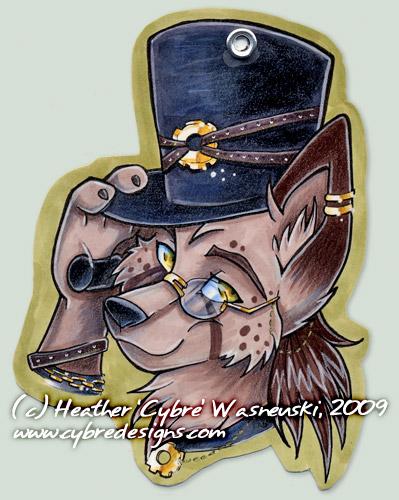 AC Badge :: Steampunk Wolf by cybre